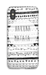 ハクナマタタ ケース IPhone X