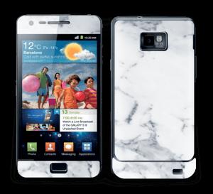 Vit marmor Skin Galaxy S2