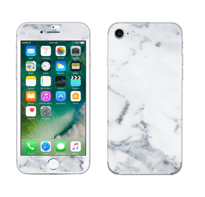 Vit marmor Skin IPhone 7