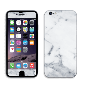 Vit marmor Skin IPhone 6/6s