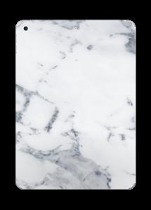 Vit marmor Skin IPad 2017