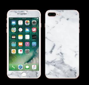 Vit marmor Skin IPhone 7 Plus