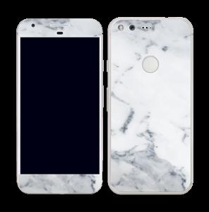 Vit marmor Skin Pixel