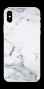 Vit marmor Skin IPhone XS