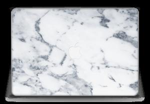 "Marbre blanc 2 Skin MacBook Pro Retina 15"" 2015"