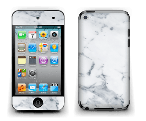 Vit marmor Skin IPod Touch 4th Gen