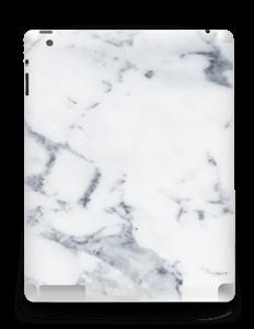 Vit marmor Skin IPad 4/3/2