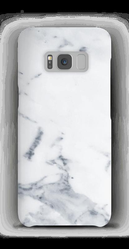 Wit marmer hoesje Galaxy S8