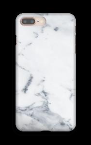Valkoinen marmori kuoret IPhone 8 Plus