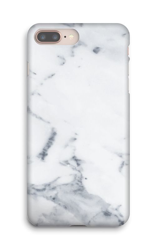 Wit marmer hoesje IPhone 8 Plus