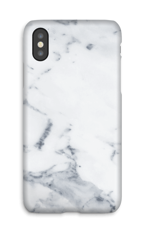 Marmo Bianco cover IPhone X
