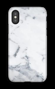 Valkoinen marmori kuoret IPhone X tough