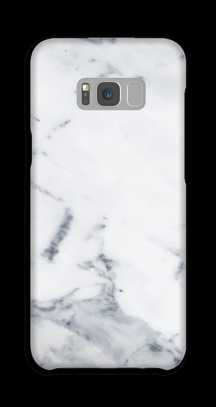 Wit marmer hoesje Galaxy S8 Plus