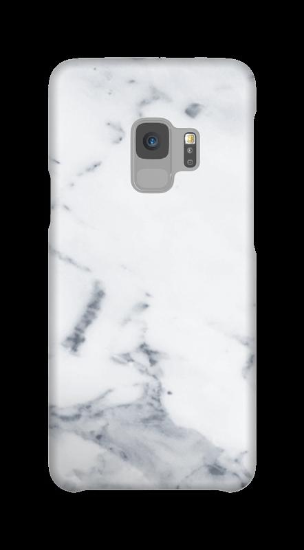 Wit marmer hoesje Galaxy S9