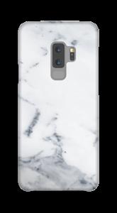 Mármore branco Capa Galaxy S9 Plus