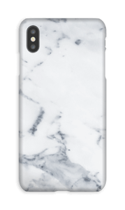 Mármore branco Capa IPhone XS Max