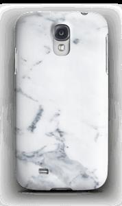Hvit marmor deksel Galaxy S4