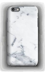 Valkoinen marmori kuoret IPhone 6s Plus tough