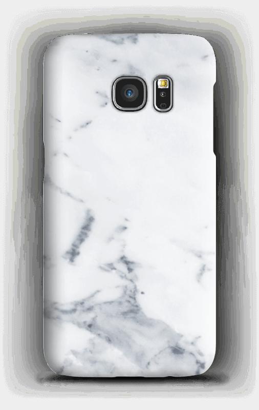 Wit marmer hoesje Galaxy S7