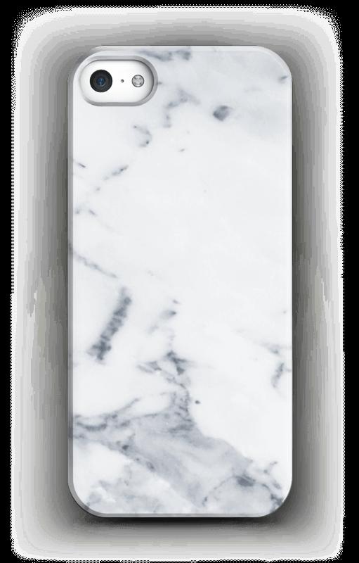 Wit marmer hoesje IPhone SE