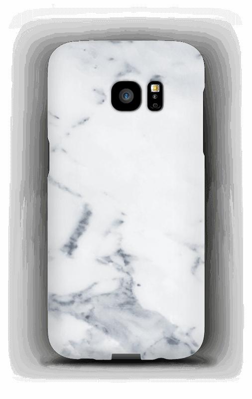 Wit marmer hoesje Galaxy S7 Edge