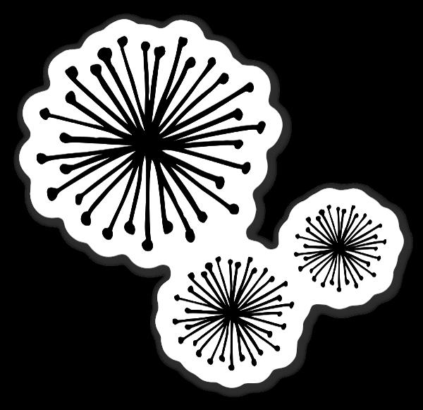 Pusteblumen sticker
