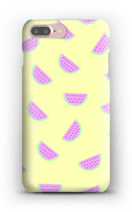 Vattenmeloner på ett skal för iPhone eller Samsung