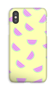 Vannmelon deksel IPhone XS