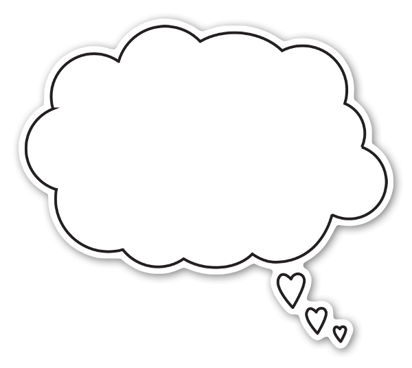 Thinking With Your Heart Sticker