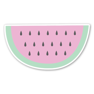 Super cute watermelon  sticker