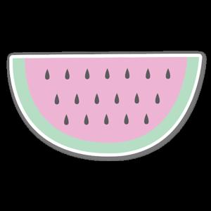 Watermeloen sticker