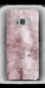 Zartrosa Marmormuster Handyhülle Galaxy S8