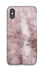 Pink marble on a case for iPhone or Samsung