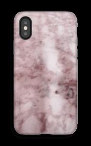 Mármore rosa Capa IPhone X tough