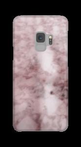 Mármore rosa Capa Galaxy S9
