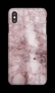 Mármore rosa Capa IPhone XS Max