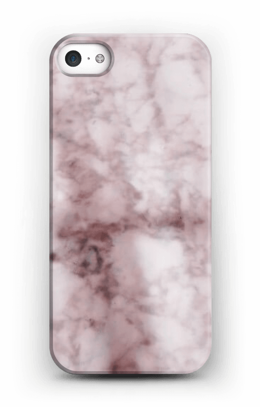 coque iphone 5 marbre rose