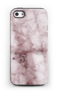 Rosa marmor deksel iphone samsung