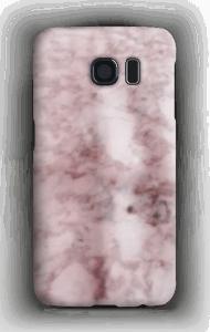 Rosa marmor skin eller cover iphone