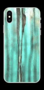 Madera esmeralda Vinilo  IPhone X