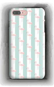 Min flamingo cover iPhone Samsung