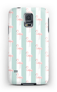 Mint green flamingo case pattern for iPhone or Samsung
