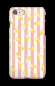 Striped banana iPhone case