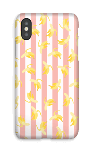 Banane su righe cover IPhone X