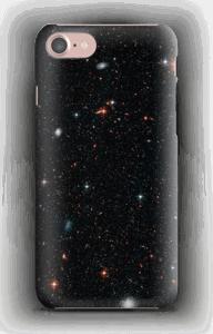 Tuikkiva galaxi kuoret IPhone 7