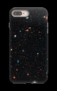 Tuikkiva galaxi kuoret IPhone 8 Plus tough