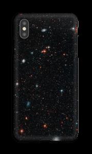 Tuikkiva galaxi kuoret IPhone XS Max