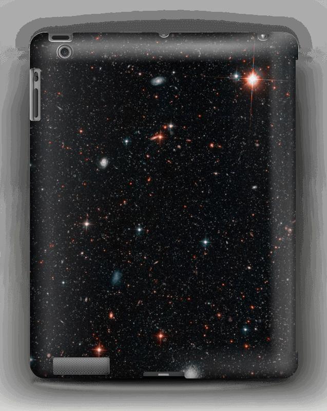 Tuikkiva galaxi kuoret IPad 4/3/2