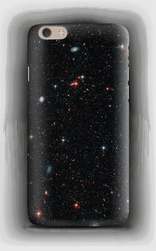 Tuikkiva galaxi kuoret IPhone 6 Plus