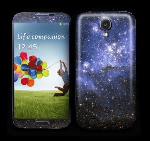 Stjernetåke Skin Galaxy S4